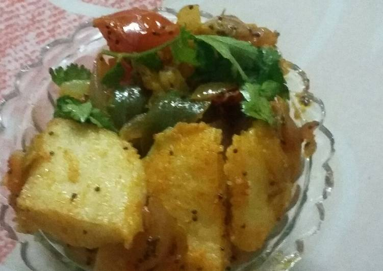 What is Dinner Easy Homemade Fried idli