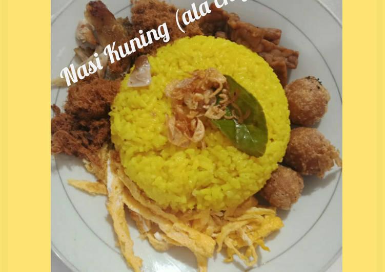Nasi Kuning (ala chef)