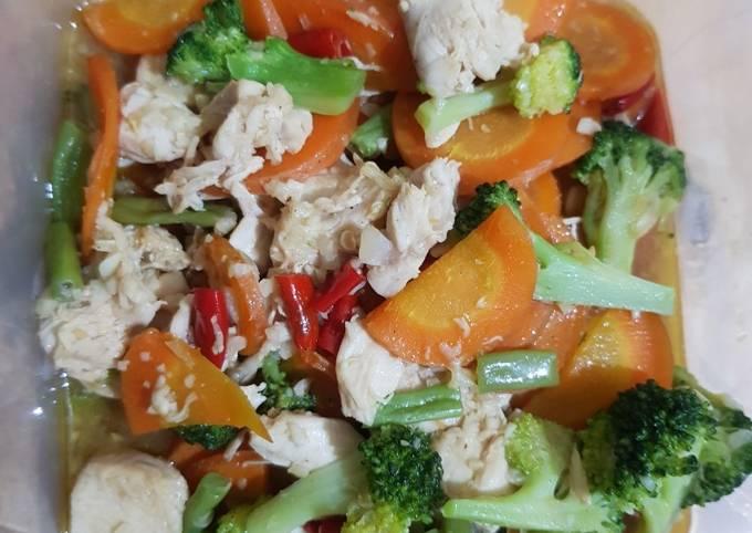 Ide Bekal Makan Siang – Capcay Gak Pake Capek