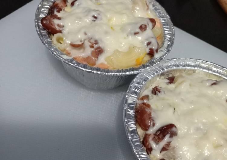 Macaroni Potato Salmon with Kacang Merah MPASI 8Mo+