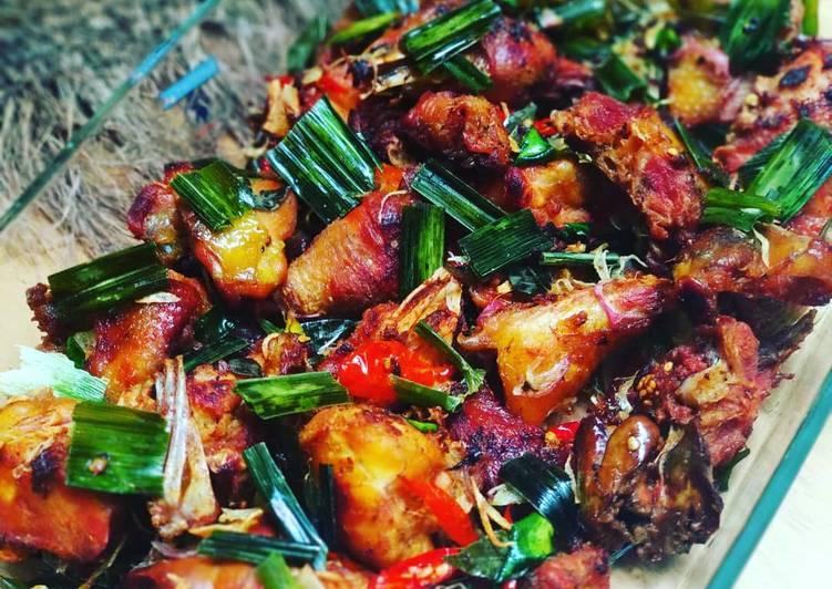 Ayam Tangkap (Khas Aceh)