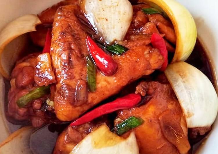 Ayam kecap wijen