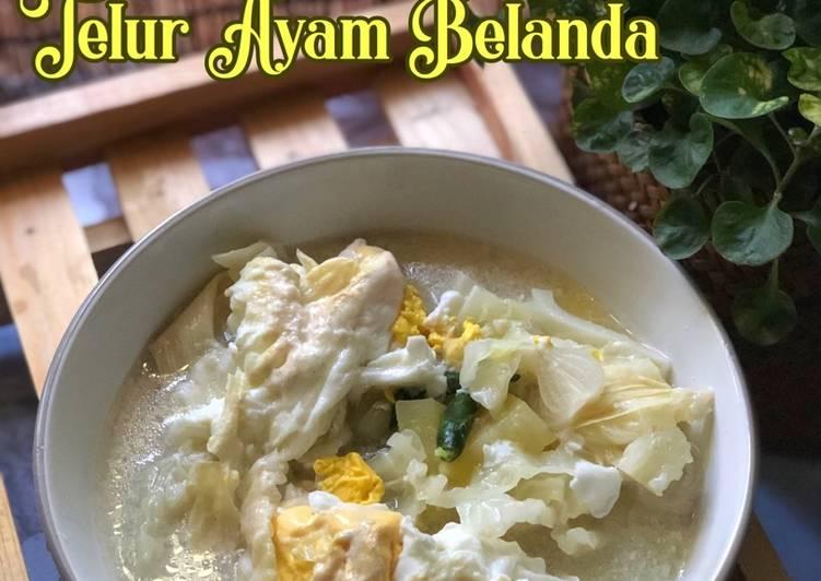 Masak Lemak Telur Ayam Belanda - velavinkabakery.com