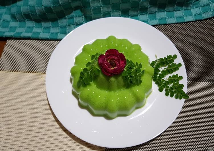 Pudding Lumut Kelor🌿