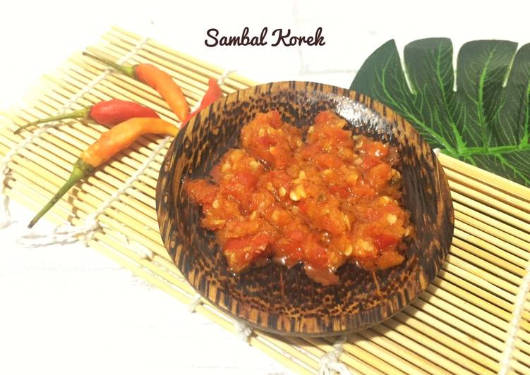 Sambal korek simple