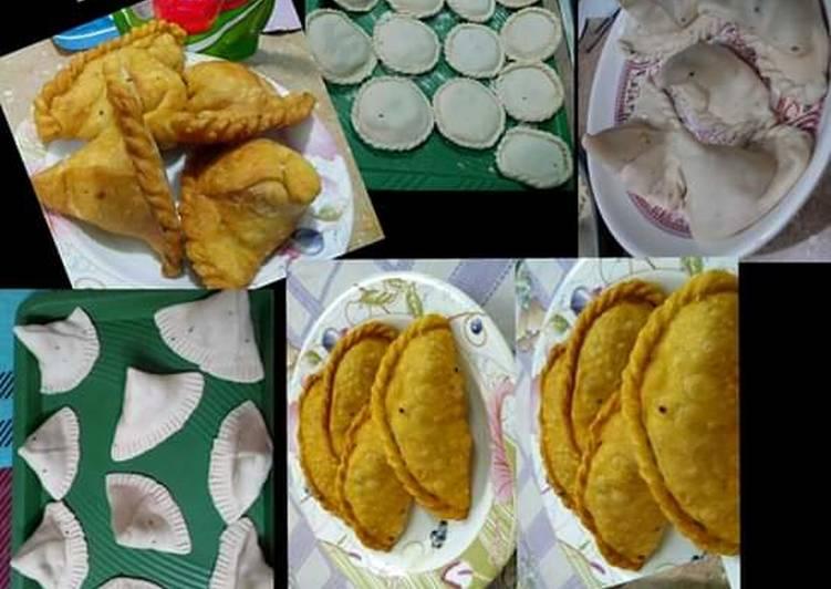 Simple Way to Prepare Award-winning Aalu k Samosay in 3 different Shape