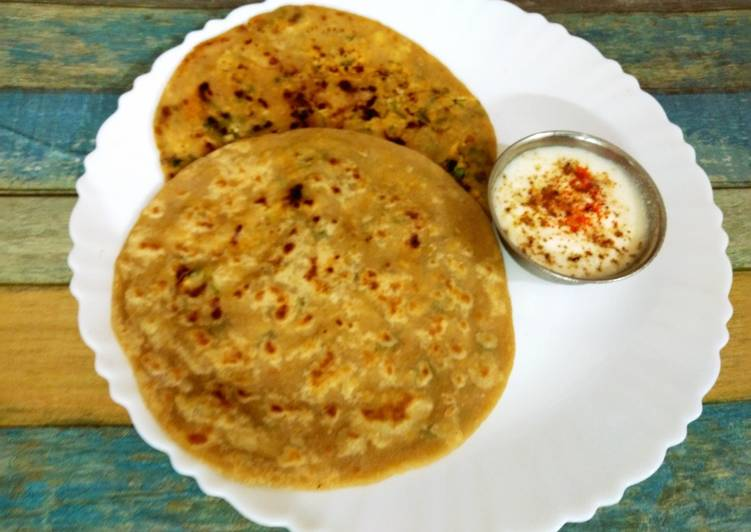 The Best Dinner Ideas Ultimate Raw banana and ajwain paratha