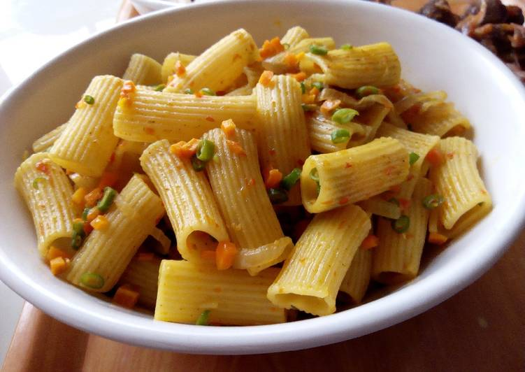 Step-by-Step Guide to Make Super Quick Homemade Stir fried rigatoni