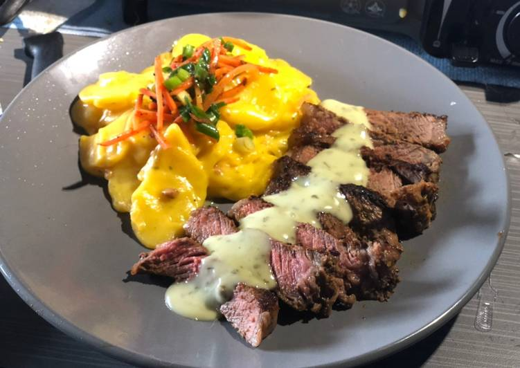 Seared Strip w/ Creamy Cilantro Lime Sauce & Scalloped Potatoes, In This Article We Are Going To Be Looking At The A Large Amount Of Benefits Of Coconut Oil