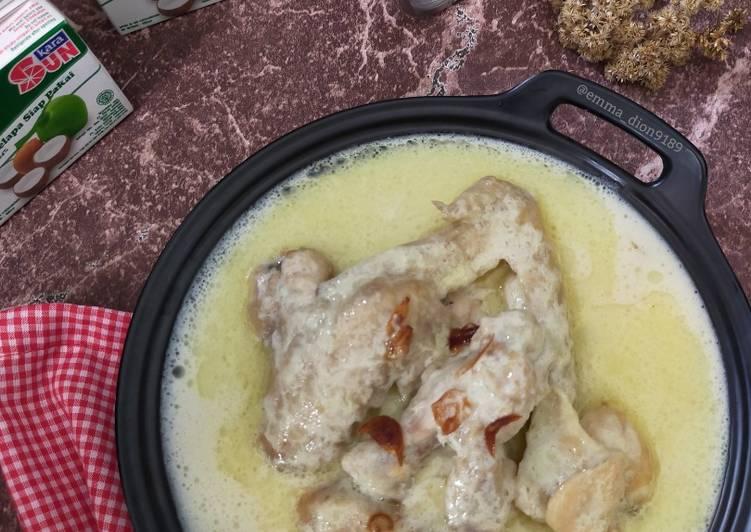Resep Membuat OPOR Ayam Kuah Putih Cita Rasa Tinggi