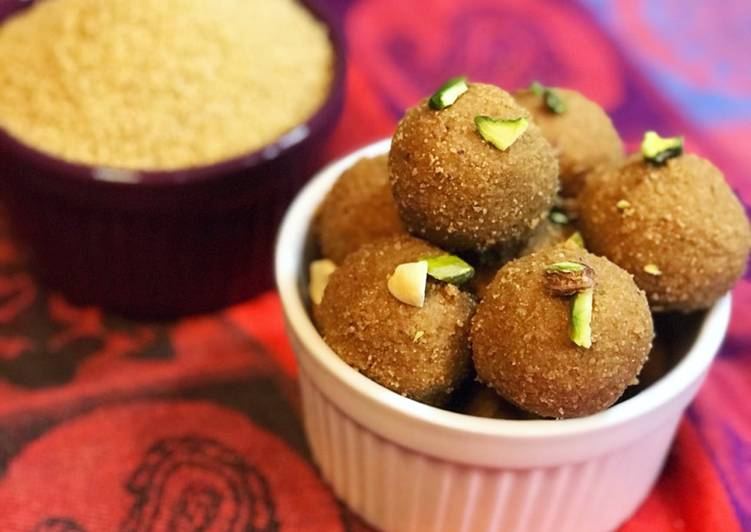 Sprouted Foxtail millet/Thinai laddu