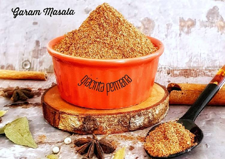 Garam Masala Kering (simple)