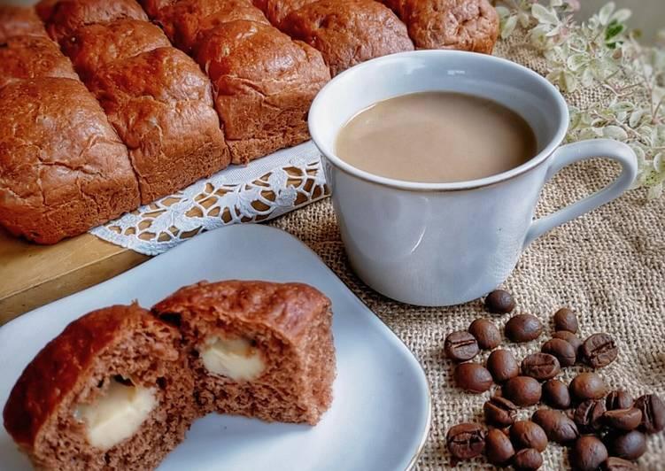 Roti Sobek Coklat isi Keju