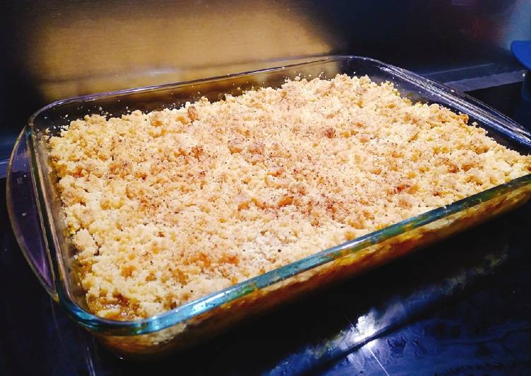 Comment Servir Crumble aux mangues