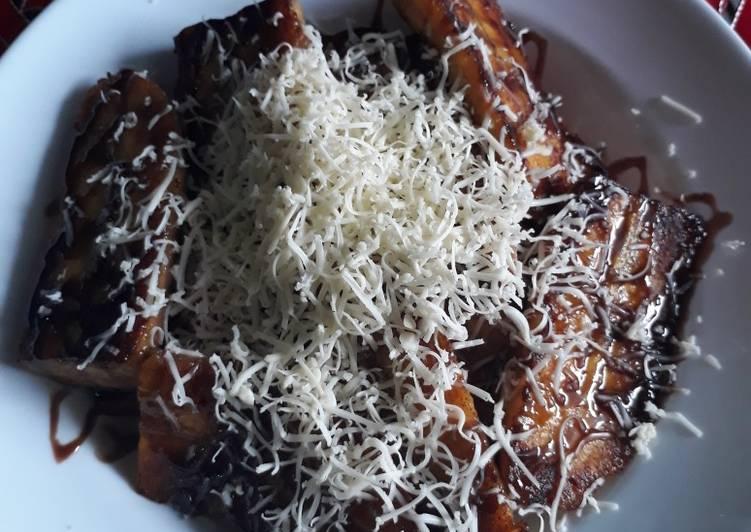 Pisang goreng simple