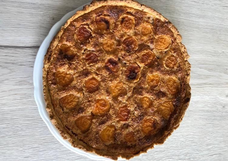 Recette: Appétissant Tarte amandine aux abricots