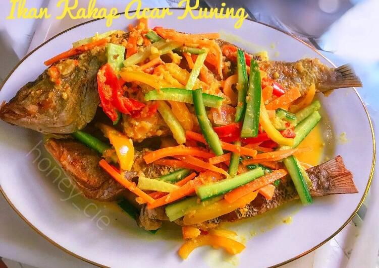 Ikan Kakap Acar Kuning - cookandrecipe.com