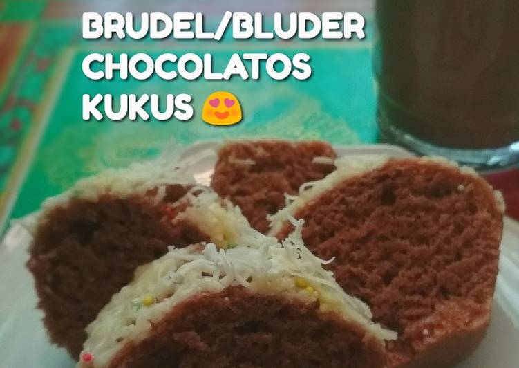 Brudel/bluder chocolatos kukus 👉 pas buat si mager 😁