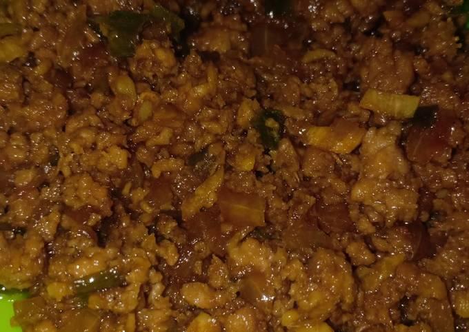 Daging sapi giling kecap saus tiram (1years+) - projectfootsteps.org