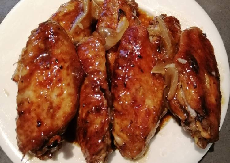 How to Prepare Delicious Oyster Sauce Chicken Wings