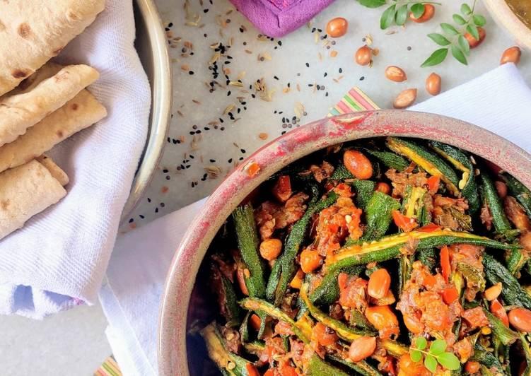 Achaari bhindi Finding Healthful Fast Food
