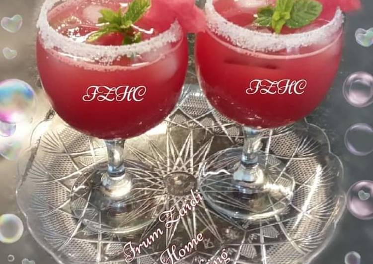 Recipe of Top-Rated 🍹🍉Watermelon Juice🍉🍹