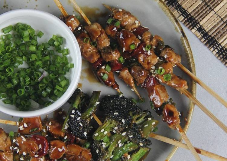 Chicken Yakitori (sate ayam jepang)