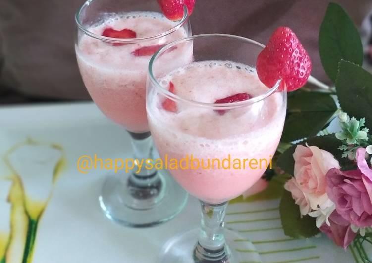 Recipe Perfect Strawberry Milkshake