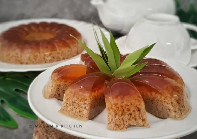 Agar-Agar Santan Gula Melaka - resepipouler.com