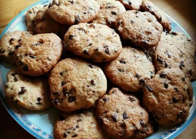 La Meilleur Recette De Cookies chocolat caramel