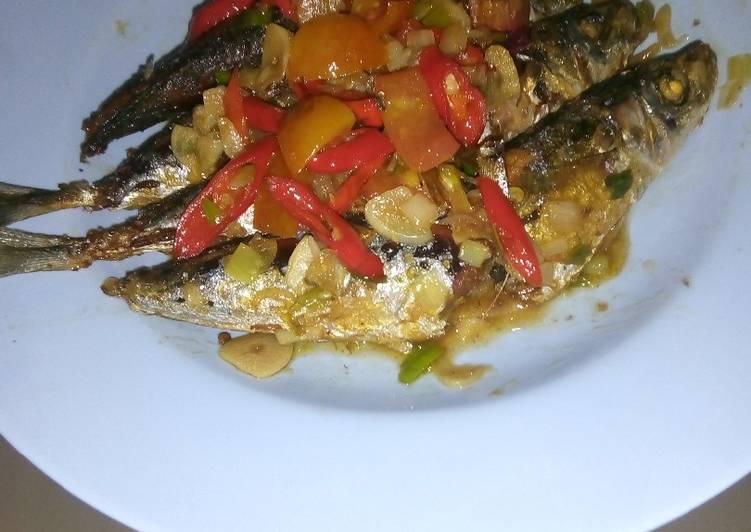 Ikan Pindang semi Dabu-Dabu😛