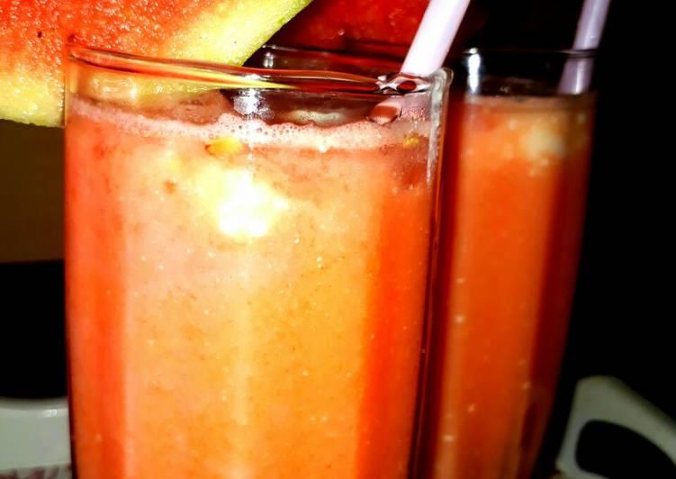 Mixed fruits lassi