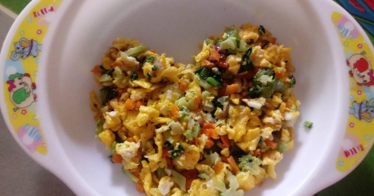 51 Resep Mpasi Telur Orak Arik Enak Dan Sederhana Ala Rumahan Cookpad