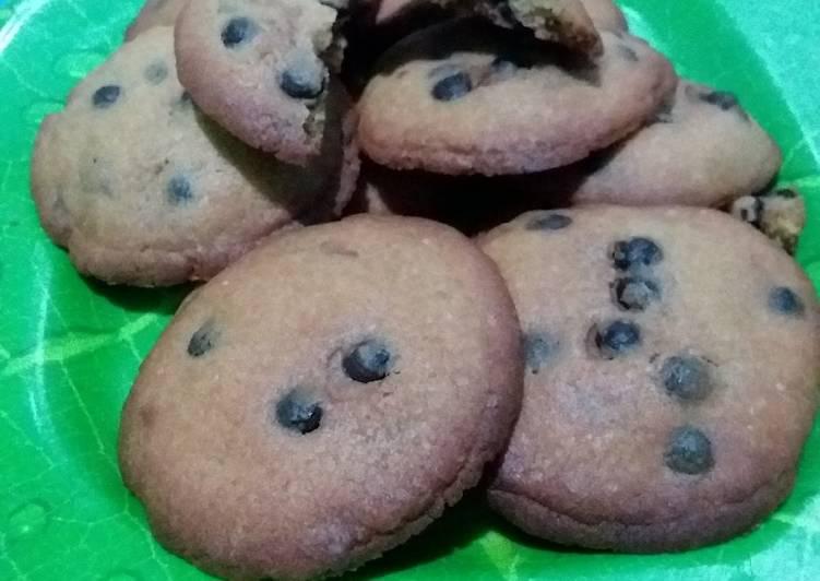 Cara Gampang Menyiapkan Choco lava soft cookies Anti Gagal