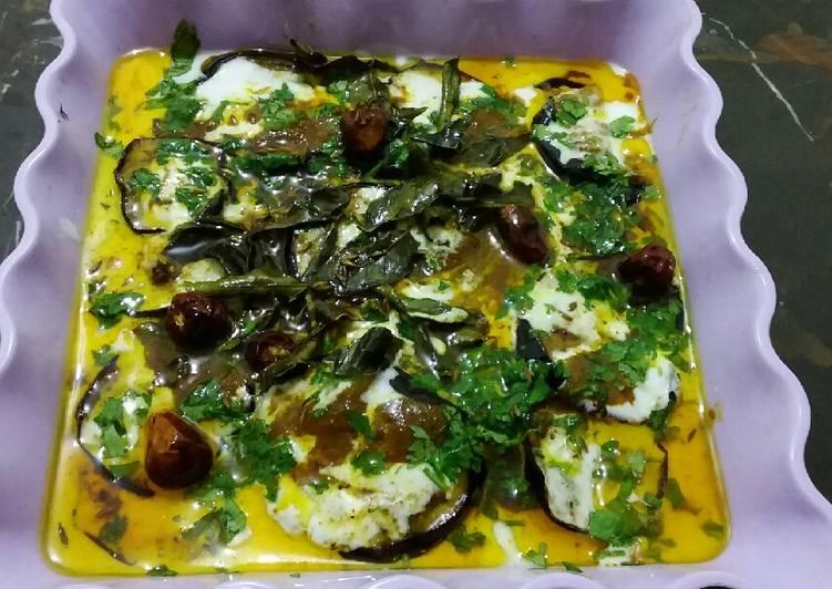 Recipe of Ultimate Dahi Walay Baingan