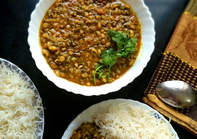 Lobia Masala Curry Finding Nutritious Fast Food