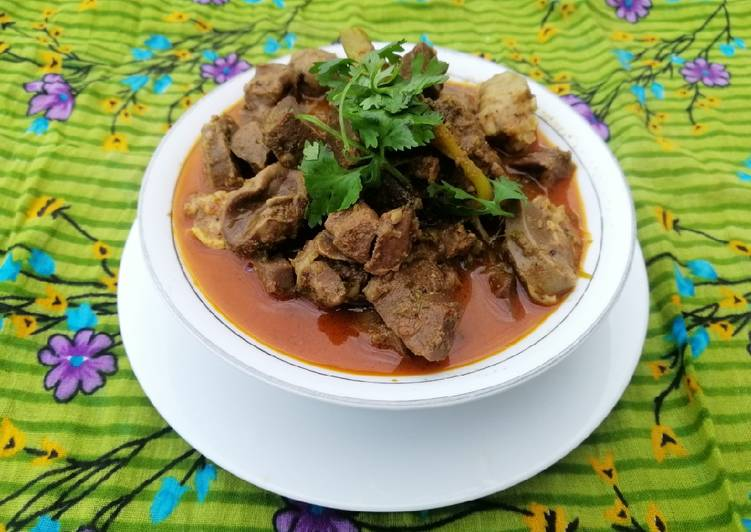 Use Food to Elevate Your Mood Kaleji Dahi Masala