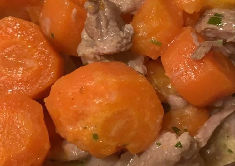 Recette Parfait Sauté de veau à la moutarde au Cookeo