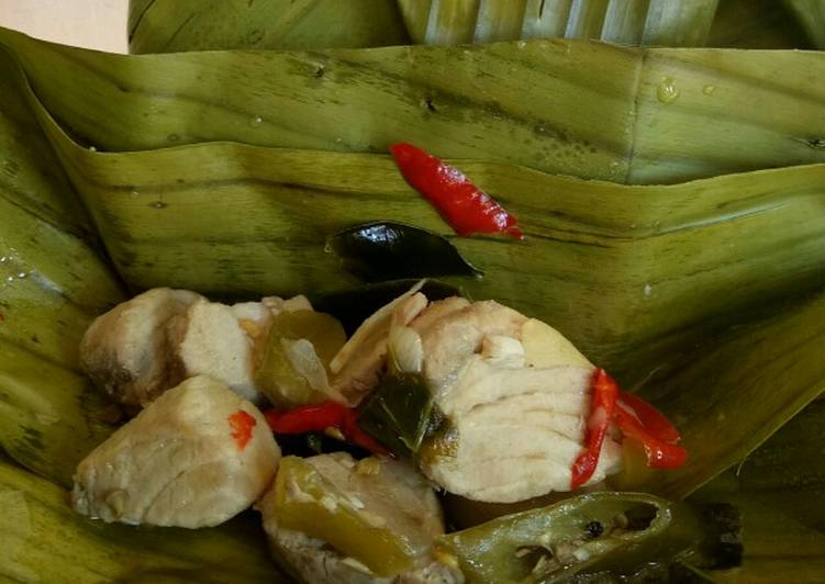 Resep Pepes Garang Asam Ikan Putihan Oleh Clara Tristianty Nugraini Cookpad