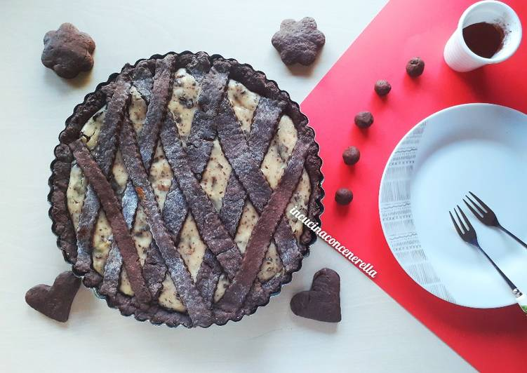 Crostata al cacao double farcitura