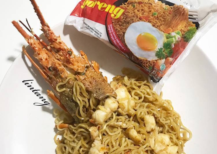 Resep Indomie goreng lobster istimewa Favorit