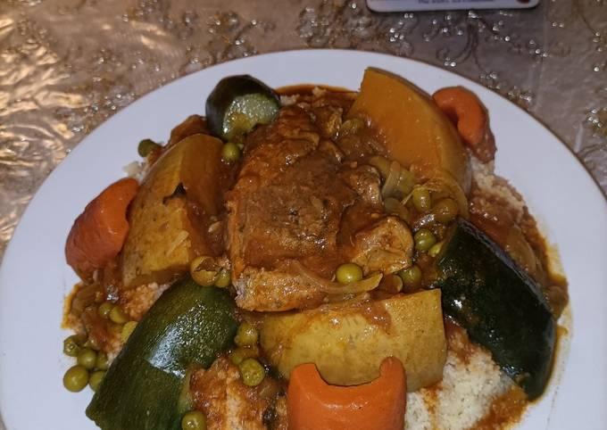 Moroccan couscous