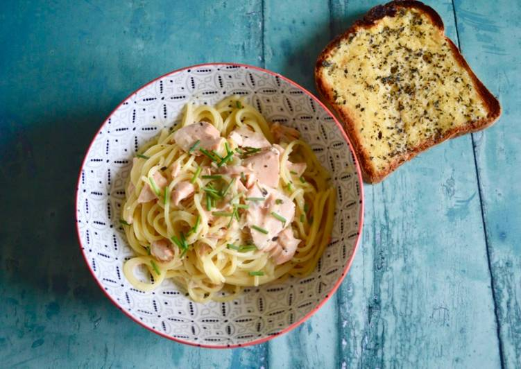 How to Make Most Popular Salmon Linguine