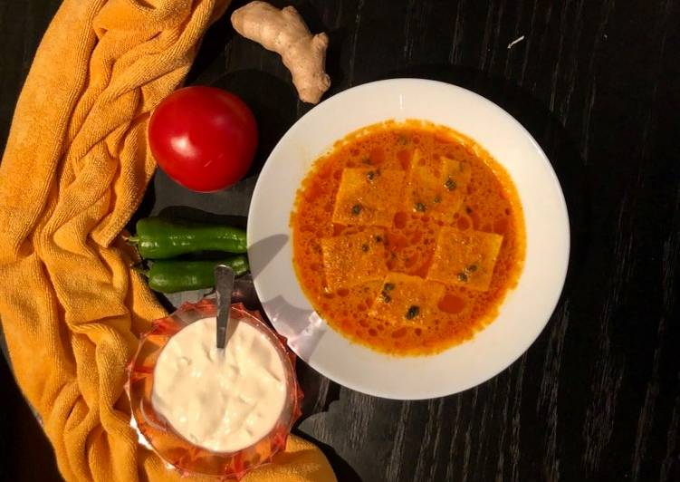 Steps to Prepare Quick Traditional Besan Pitor Curry