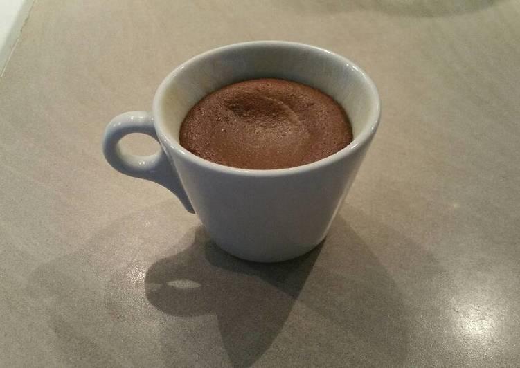 Moelleux chocolat, cœur coulant schoko-bons