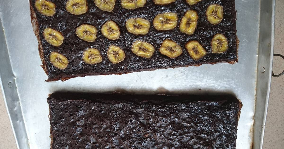 Resep Brownies Pisang Panggang Oleh Sherly Wong Cookpad