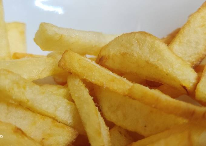 Delicious crispy french fries
