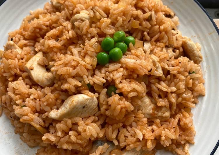 Chicken Fried Rice dari Film Midnight Dinner di Netflix