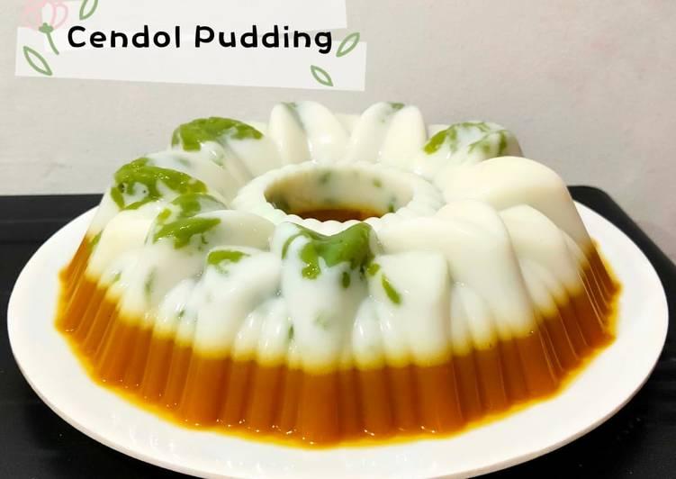Cendol Pudding