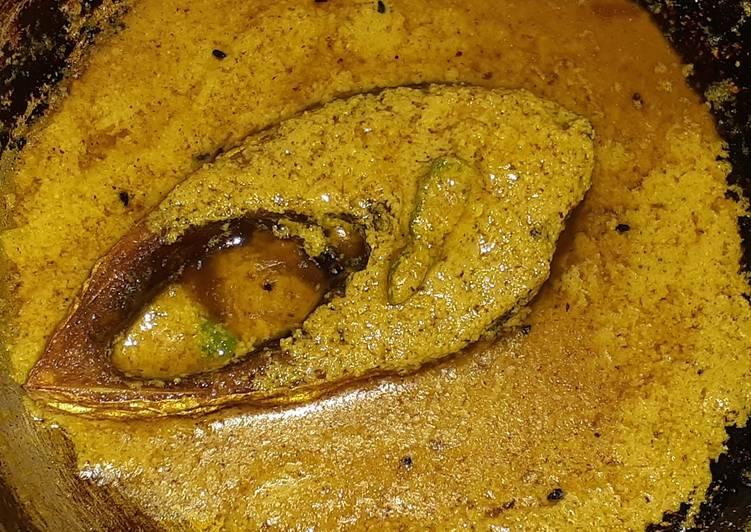 Simple Way to Prepare Speedy Posto ilish(Hilsa in poppy seeds paste)